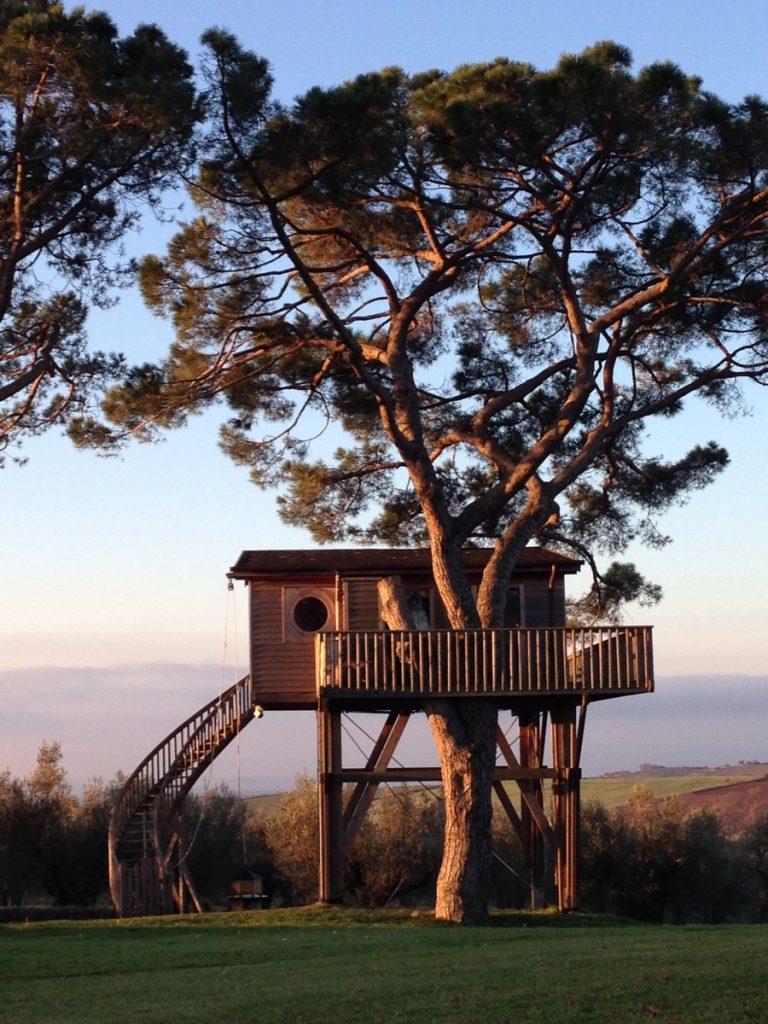 casa sull'albero Marche