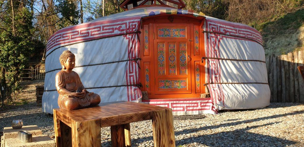 tenda mongola Torino