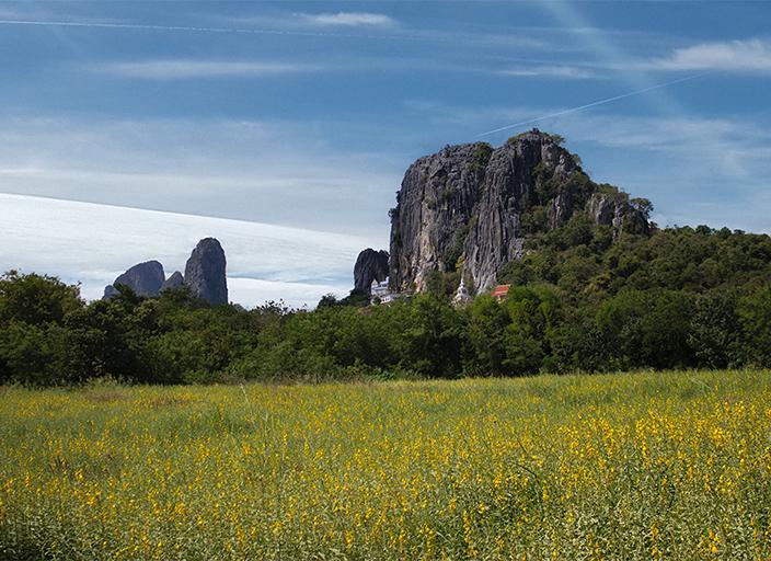Montagna in Thailandia