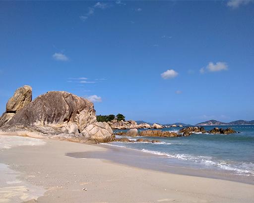 Spiaggia in Vietnam